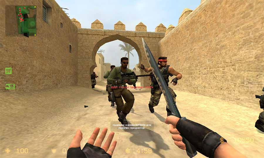 скачать бесплатно counter strike source русский спецназ 2008 через торрент